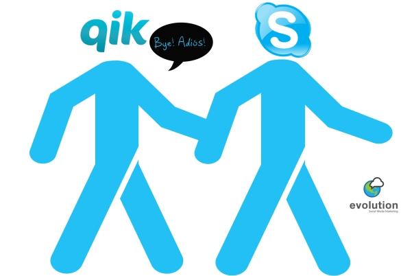 Qik desaparecerá a partir del 30 de abril.